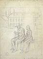 """Lix F.T. - Graphite - Projet d'illustration pour le roman """"En famille"""" d'Hector Malot - 22x30cm.jpg"""