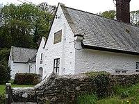 Llanrhaeadr alms houses - geograph.org.uk - 165016.jpg