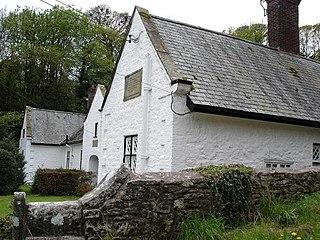 Llanrhaeadr-yng-Nghinmeirch a village in Denbighshire, Wales