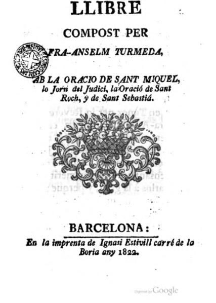 File:Llibre compost per Fra Anselm Turmeda (1822).djvu