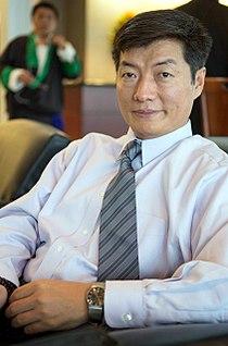 Lobsang Sangay, Tibetan Prime Minister.jpg