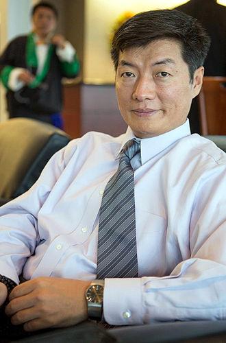 Sikyong - Image: Lobsang Sangay, Tibetan Prime Minister