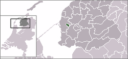 Location of Bolsward