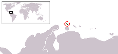 Location of Aruba