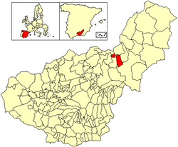 Location of Freila