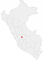 Location of the city of Huancayo in Peru.png
