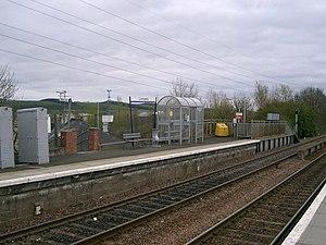 Lochgelly railway station - Image: Lochgelly railway station 1