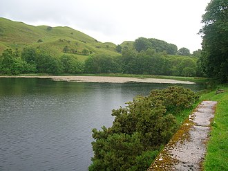 Lochspouts - The East end of the old reservoir.