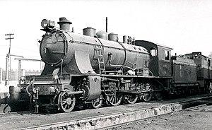 Locomotora de vapor 240-2074