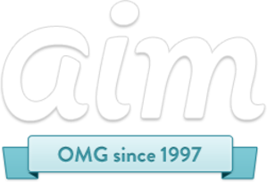 AIM (software) - Image: Logo of AOL Instant Messenger (2011)