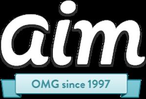 AIM (software) - Image: Logo of AOL Instant Messenger (2011)
