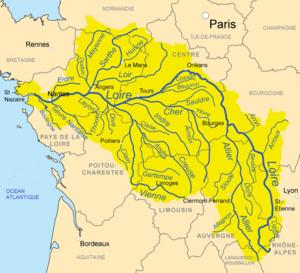 אגן הניקוז של נהר הלואר
