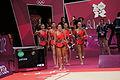 London 2012 Rhythmic Gymnastics - Japan.jpg