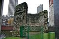 London wall outside the Museum of London 1.jpg
