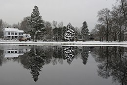 Looking south across the pond on the Upper Green, Newbury MA.jpg