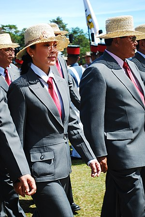 Loren Legarda - Senator Loren Legarda during a 2007 Philippine Military Academy ceremony