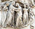 Lorenzo maitani e aiuti, scene bibliche 3 (1320-30) 07 visitazione.jpg