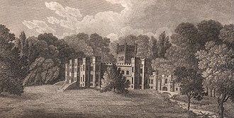 Galston, East Ayrshire - Loudoun Castle, circa 1811