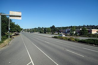 British Columbia Highway 7 - Image: Lougheed Highway near Coquitlam 2018