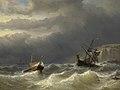 Louis Meijer - Storm in het Nauw van Calais.jpg