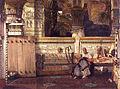 Lourens Alma Tadema - De Egyptische weduwe..jpg