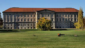Ludovica Academy - The Academy from the direction of the Orczy gardens (2007)