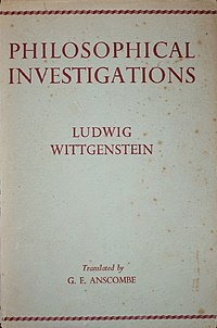 Ludwig Wittgenstein - Philosophical Investigations, 1953.jpg