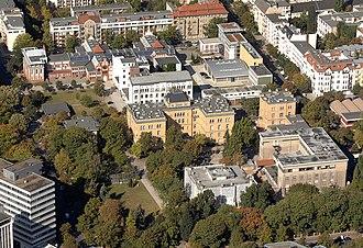 Physikalisch-Technische Bundesanstalt - Image: Luftbild Charlottenburg PTB