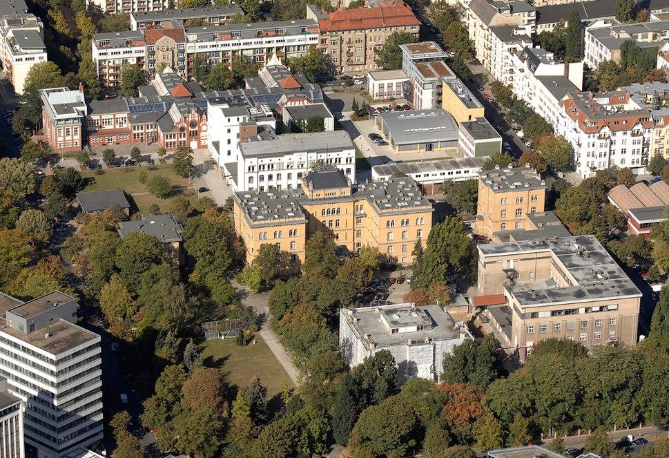 Luftbild Charlottenburg PTB