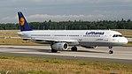 Lufthansa Airbus A321-100 (D-AIRH) at Frankfurt Airport.jpg
