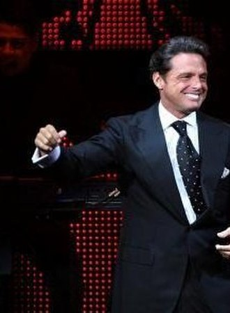 Lo Nuestro Award for Pop Album of the Year - Mexican performer Luis Miguel (pictured in 2009), winner in 1994 and 1995