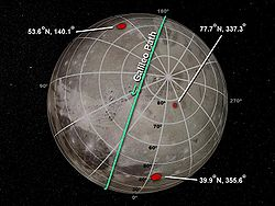 Mass anomalies within Ganymede