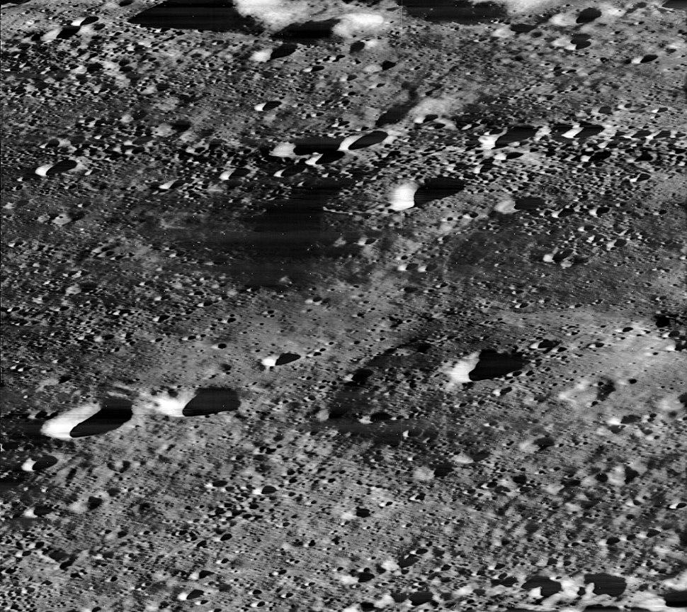 Lunar domes Hortensius area 3123 h2
