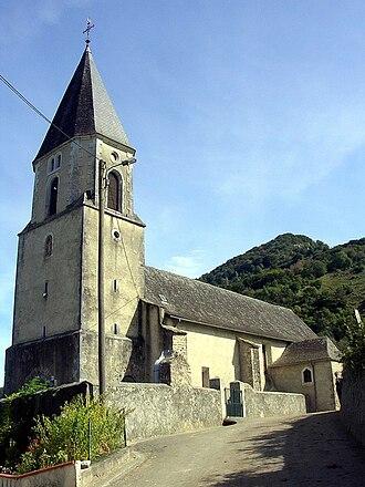 Lurbe-Saint-Christau - The church of Lurbes