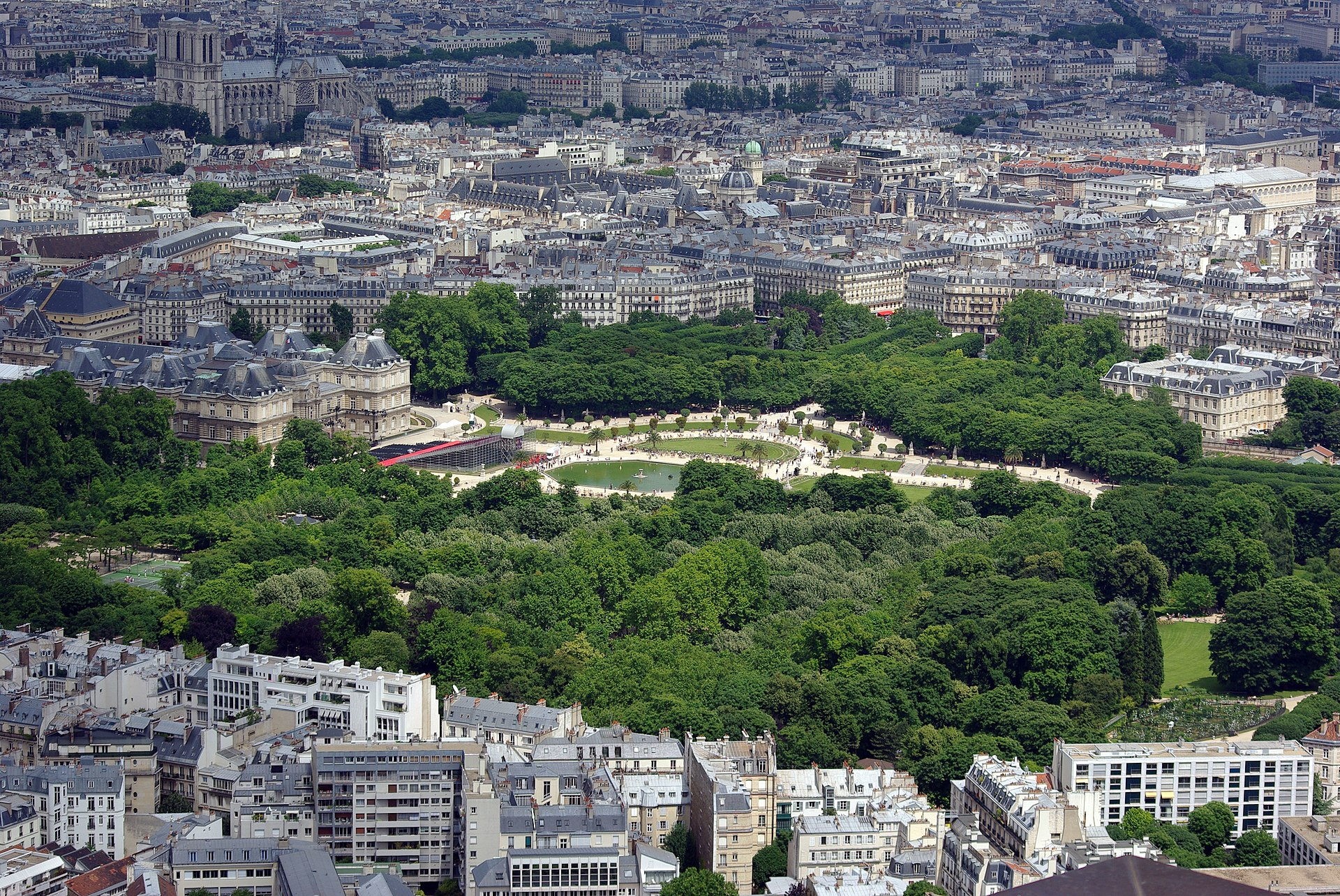Jardin du luxembourg wikip dia for Piscine au luxembourg