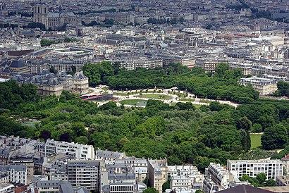 Comment aller à Jardin du Luxembourg à Paris en Bus, Métro, RER ou ...