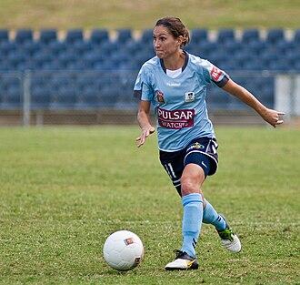 Lydia Vandenbergh - Image: Lydia Vandenbergh Sydney FC