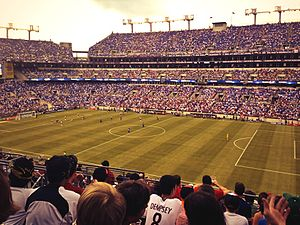 2015 CONCACAF Gold Cup - Image: M&T Bank Stadium USA soccer