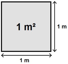 1 квадратный метр это сколько