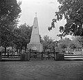 Mór 1953, Szovjet emlékmű. Fortepan 23540.jpg