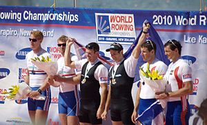 2010 World Rowing Championships - M2x medallists