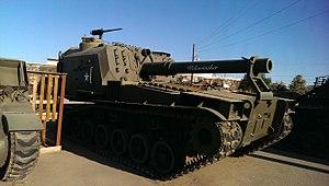M55 self propelled howitzer - Image: M55 Widowmaker