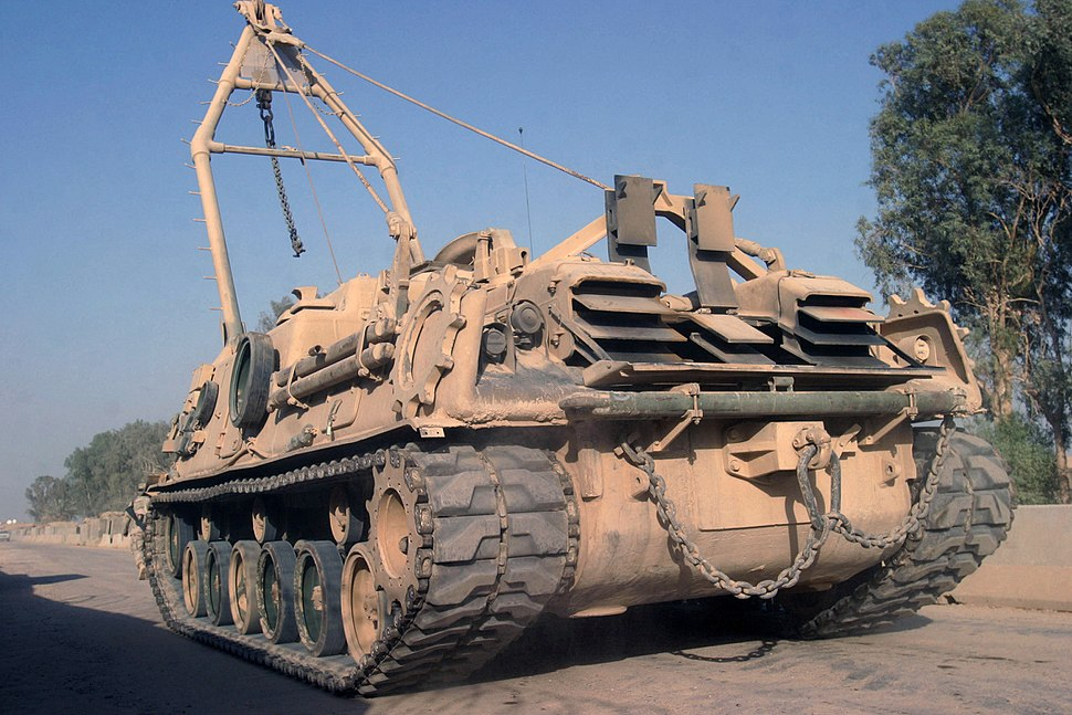 M88A1 during Operation Iraqi Freedom