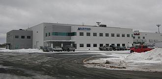 Maritime Air Charter - Maritime Air Charter hangar