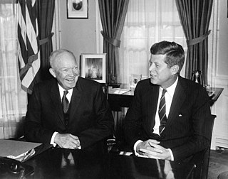 Presidential transition of John F. Kennedy Transfer of U.S. presidential power