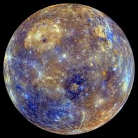 File:MESSENGER False Color Mercury Globe Spin.webm