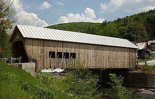 Mill Covered Bridge (Tunbridge, Vermont)