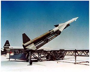 発射機上のMIM-3 ナイキ・エイジャックス