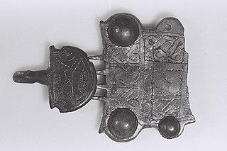 Plaque de ceinture D 25105