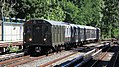 "MTA NYC Subway ""Train of Many Metals"" vintage train passing Ave H.jpg"